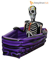Halloween Inflatable Skeleton Drinks Cooler Party Prop Decoration Fancy Dress