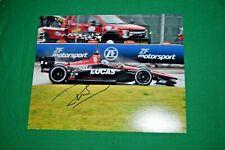 Robert Wickens Signed Autographed Indycar Lucas #6 2018 unique 8x10 photograph