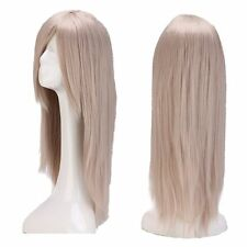 Fashion Long Ombre Curly Wavy Wig Women Cosplay Party Costume Purple Hair Wig 03