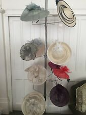 Women's Fascinator Hats in various colours. Brand new with tags. Buy all 10