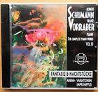 Robert Schumann - Complete Piano Works Vol. 10 - Franz Vorraber - CD neu & OVP