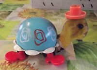 Ancienne Tortue 1962 FISHER PRICE U.S.A Vintage old toy jouet ancien