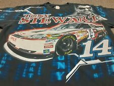 VTG Y2K 2012 NASCAR #14 Tony Stewart Office Depot All Over Print T Shirt X-Large