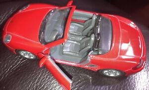 Porsche Boxster S Kinsmart No. 5302D 0792674888885