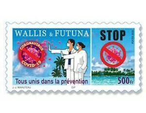 Wallis et Futuna 2020 - Autoadhésif - Tous unis dans la prévention