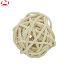 20pcs Rattan Wicker Cane Balls for Garden Patio Wedding Party Home Decoration