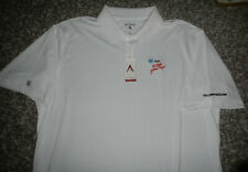 NWT AT&T Telecommunications Company Logo The Real Yellow Pages Polo Shirt Sz XXL