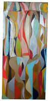 """Jason Fascination Abstract Expressionist Acrylic Painting on Canvas 80"""""""
