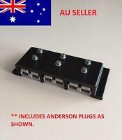 50 Amp Anderson Plug Surface Mount Sealed Triple Grey Plug Cover SB50 Caravan