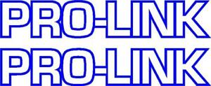 HONDA XR CR125,250,500 SWINGARM PRO-LINK PROLINK DECALS GRAPHICS
