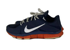 NIKE FREE TRAINER 5.0 CROSS TRAINER SHOES NAVY ORANGE MENS 9