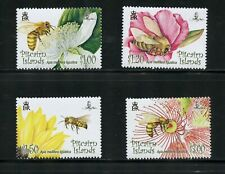 Q896  Pitcairn Islands 2008   insects bees flowers   4v.  MNH