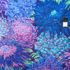 Philip Jacobs PJ41 Japanese Chrysanthemum Antique Cotton Quilting Fabric By Yard