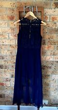 Navy Lace Formal Dress Women's AU 8-10