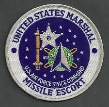 UNITED STATES MARSHAL SERVICE MISSILE ESCORT POLICE PATCH