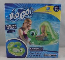 Bestway H2O Go! Inflatable Baby Care Seat Float - New - Turtle