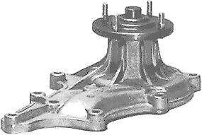 Protex Water Pump PWP5002 fits Toyota Tercel 1.5