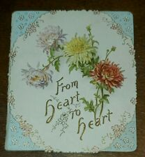 Vintage early 1900's International Art Publishing Co. Valentine's day booklet