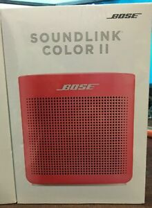 Bose SoundLink Color 2 Bluetooth Wireless Portable Speaker II  Red