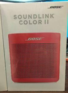 Bose SoundLink Color 2 Bluetooth Wireless Portable Speaker II  Red