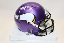 ef0cb53c748 Kyle Rudolph Minnesota Vikings signed mini speed helmet JSA COA Auto  autograph