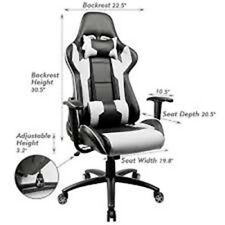 Homall Executive Swivel Leather Gaming Chair, Racing Style High-back Office Chai