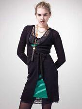 FRANKIE MORELLO Green Silk/Black Lace Dress size IT 44 US M