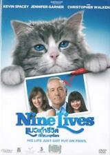 Nine Lives (2016) DVD '0' PAL - Kevin Spacey, Jennifer Garner, Family Comedy