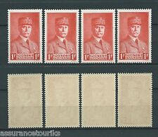 MARÉCHAL PÉTAIN - 1941 YT 472 4x - TIMBRES NEUFS** LUXE