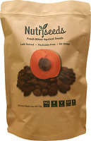 Nutriseeds Fresh Bitter Raw Apricot Seeds 16oz 100% Natural Non-GMO Kernels