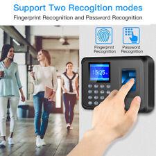 "Fingerprint Attendance Machine 2.4"" TFT LCD Biometric Fingerprint Timer Clock"