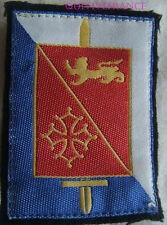 IN8229 - PATCH INSIGNE TISSU CMD Bordeaux