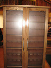 Pipe Rack Display Cabinet Stand smokers case,Churchwarden 45 Pipes Item # 200-D2