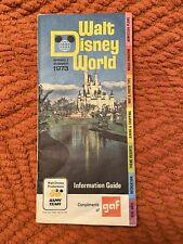Vintage Walt Disney World Spring/Summer 1973 Information Guide Book, very good