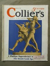Vintage Colliers Magazine August 29, 1936  Alan Foster cover