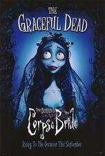 TIM BURTON'S CORPSE BRIDE Movie POSTER 27x40 D Johnny Depp Helena Bonham Carter