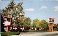 SANTA ROSA, California CA  Roadside  PELISSIER MOTEL Sonoma Co.  c1950s Postcard