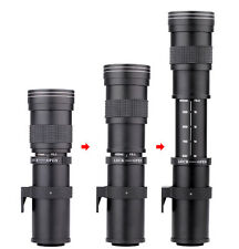 High Quality 420-800mm F/8.3-16 Telephoto Zoom Lens For Canon Nikon DSLR Camera