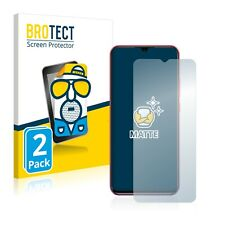 2x Display Schutz Folie für Ulefone Note 10 Matt Entspiegelt