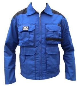 Wenaas Craftsmen Jacket Thick Heavy Duty Mens Work Wear Coat Workwear 46607