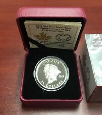 RCM Fine Silver Coin 75th Anniversary Of The First Royal Visit Canada