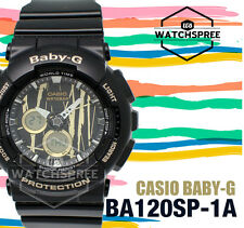 Casio Baby-G New Scratch Pattern BA-120 Series Watch BA120SP-1A
