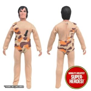 """Mego Tarzan COMPLETE Outfit Reproduction For 8"""" Figure WGSH Custom Parts"""