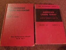 VINTAGE American labor Movement BOOKS