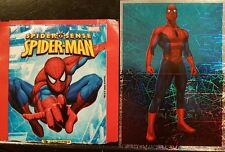 SPIDERMAN: SPIDER SENSE,  FULL SET OF STICKERS X168