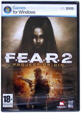 F.E.A.R. 2: Project Origin - PC DVD Game - New & Sealed