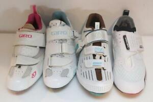 New Lot (4) of SINGLE Women's Cycling Bike Shoes Carbon Bontrager Giro