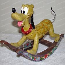 Pluto FAITHFUL FRIEND Rocker (Jim Shore, Disney Traditions, 4016584) 2010
