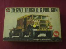 15-CWT Truck & 6 PDR Gun - SCALA 1/35 Airfix
