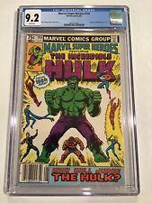 MARVEL SUPER HEROES #100 Featuring Incredible Hulk 1981 CGC 9.2 ,